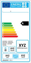 Energieeffizienzklassen-Lable