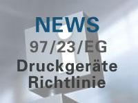 News Druckgeräterichtlinie