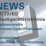 Harmonisierte Normen zur Druckgeräterichtlinie 97/23EG